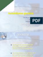 VariaBiliTatea Genetica2