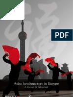 Asian Headquarters in Europe