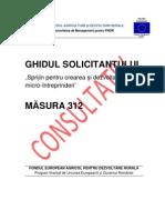 Ghidul Solicitantului M312 V06 Din Iunie 2012 CONSULTATIV