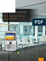 Orange Folleto Pymes Oficna Plus