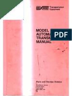 BorgWarner 35 Manual