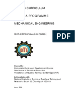 Mechanical Engineering 2008