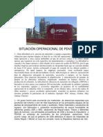 SITUACIÓN OPERACIONAL DE PDVSA (2012)
