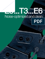 The extremely low-noise igus e-chain - E3, T3 and E6 Systems