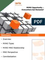 Computaris - The MVNO Opportunity in Romania