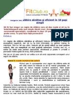 Regim de slăbire sănătos și eficient în 10 pași simpli | FitClub.ro