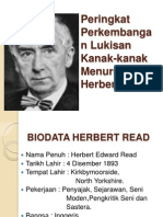 Peringkat Perkembangan Lukisan Kanak-kanak Herbert Read