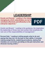 Chapter 8 - Leadership
