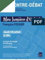 Bleu, lumière d'Orient par François Fossier - 19 juillet 2012