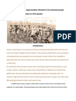 Gender Roles in Slavery