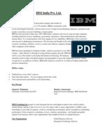IBM Pvt