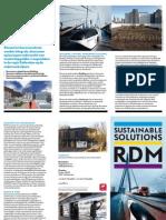 Brochure Kenniscentrum Sustainable Solutions RDM