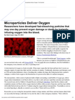 Microparticles Deliver Oxygen _ the Scientist