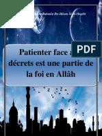 Patienter face aux décrets est une partie de la foi en Allâh