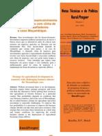 Estratégia para o desenvolvimento agrícola em países com clima de negócios desafiadores