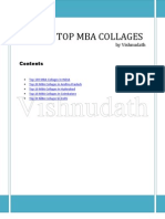 List of Top Mba Collages INDIA Andhra Pradesh Hyderabad Delhi- Vishnudath