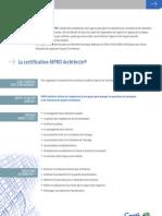MPROarchi _plaquette de Présentation CERTIVEA