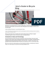 Bicycle Gear Shifting Methods