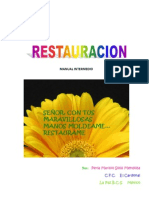 Manual Restauracion