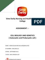 Assignment Cell Biology & Genetics 2012