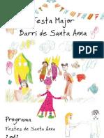 Festa Major Santa Anna 2012