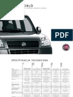 Fiat Doblo Dane Techniczne