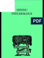 Hindu Psychology - Its Meaning for the West, by Swami Akhilananda