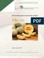 2006. Nicaragua. Guía Práctica para la Exportación de Melon