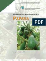 2006. Nicaragua. Guía Práctica para la Exportación de Papaya