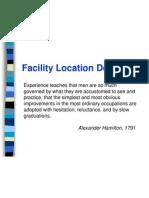 (1) a Facilities Location Ballou13