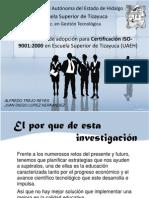 Propuesta de adopción para Certificación ISO-9001 2000 en Escuela Superior de Tizayuca (2)