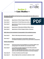 Involving Children & Young People in Recruitment & Selection Toolkit Case Studies
