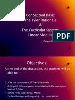 Curriculum Devt Report