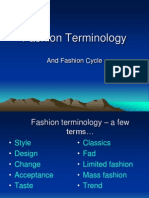 4.Fashion Term, Cycle