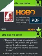 Curso de Hobo + Ruby on Rails