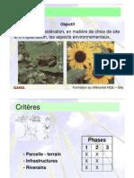 Préf HQE _1 Cible 1 Relation Au Site _N-PdC2003