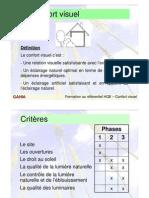 GUI confort visuel & droit au soleil _formation HQE2003