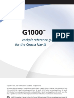 G1000 CessnaNavIII CockpitReferenceGuide CessnaNavIII