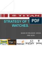 Prasoon Titan Watches.