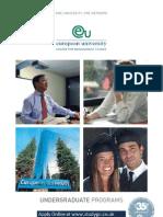 Study International EURUNI Undergraduate Programmes and Courses