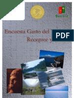 Encuesta Gasto Turismo Receptor Emisor