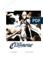 Claymore - 3d&t ALPHA
