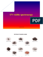 Inorganic Spectoscopy-UV-Vis