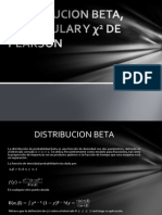 DISTRIBUCION BETA, TRIANGULAR Y χ2 DE