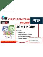 CURSOS DE MECANOGRAFIA E INFORMÁTICA