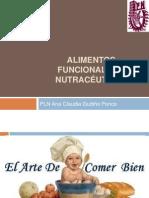 Platica 2 ALIMENTOS FUNCIONALES Y NUTRACÉUTICOS