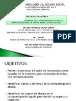 laringotraqueitis