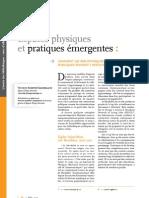 Espaces physiques et pratiques émergentes