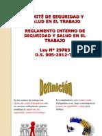 Comite de Sst Ley 29783