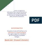 21 - Bioinformatica